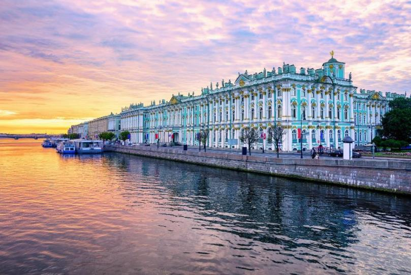 The Hermitage and Russian museum are open!